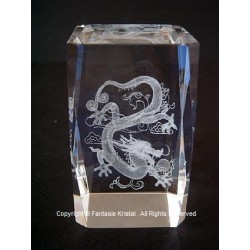 Lasercube 3D chinese dragon